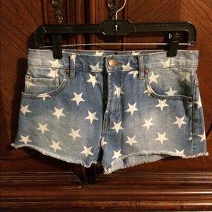 Forever21 star shorts