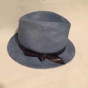 Tarnish Accessories - NWOT Tarnish Blue Panama Hat