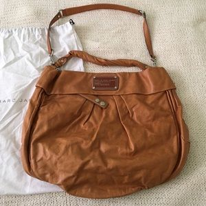 Marc by Marc Jacobs handbag - cognac leather