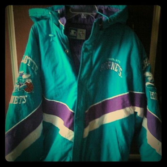 differently 5df26 ff188 Charlotte Hornets Vintage Jacket