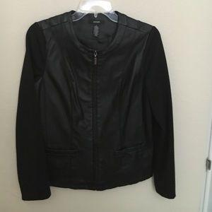 Alfani leather jacket