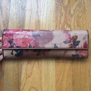 Aldo Floral printed clutch