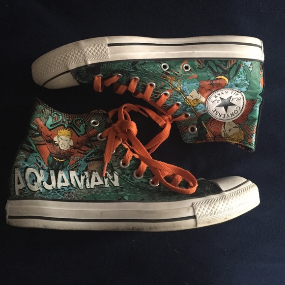 Converse Shoes   On Hold Aquaman