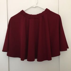 Dresses & Skirts - Maroon skirt