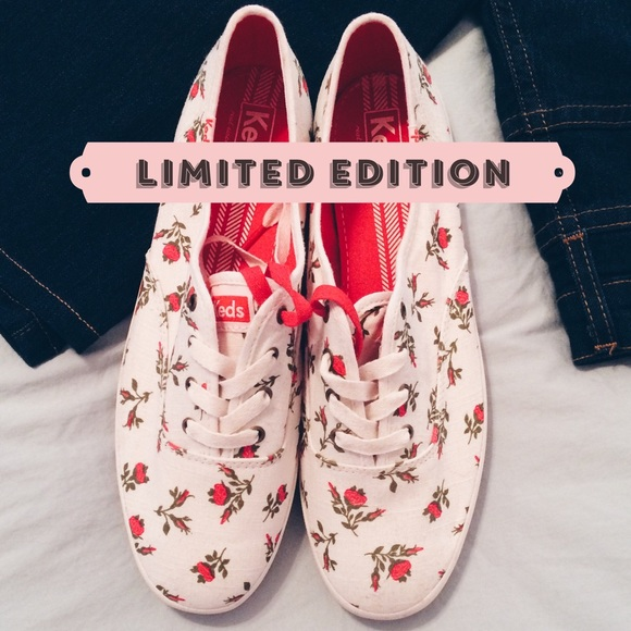 b49379f5afd keds Shoes - 🎉SALE!!🎉 Keds Champion Floral Sneakers