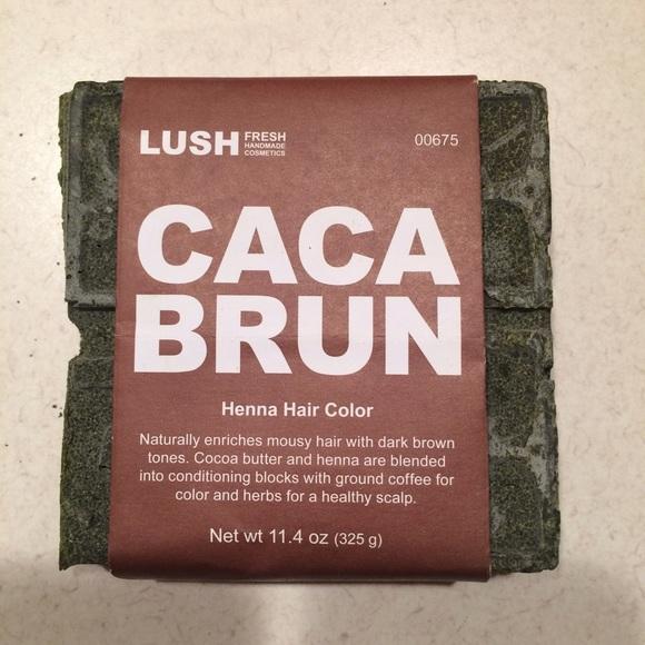 Lush Makeup Henna Hair Color Caca Brun Poshmark
