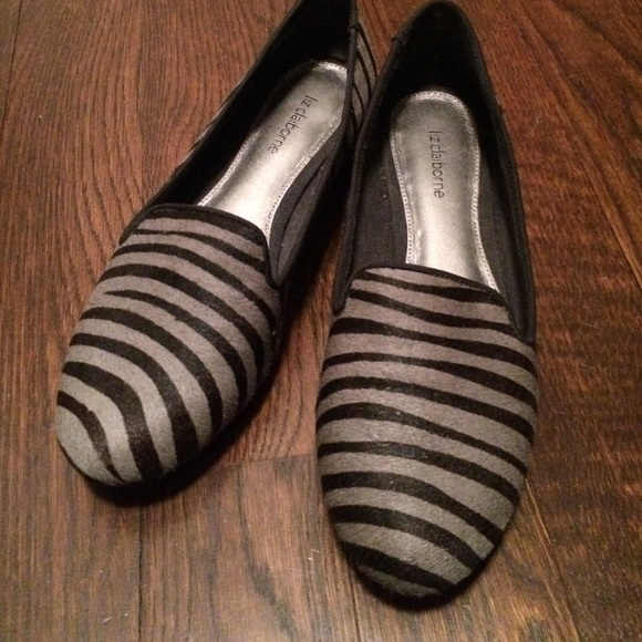 0680db72c3082 Zebra print pony hair loafer