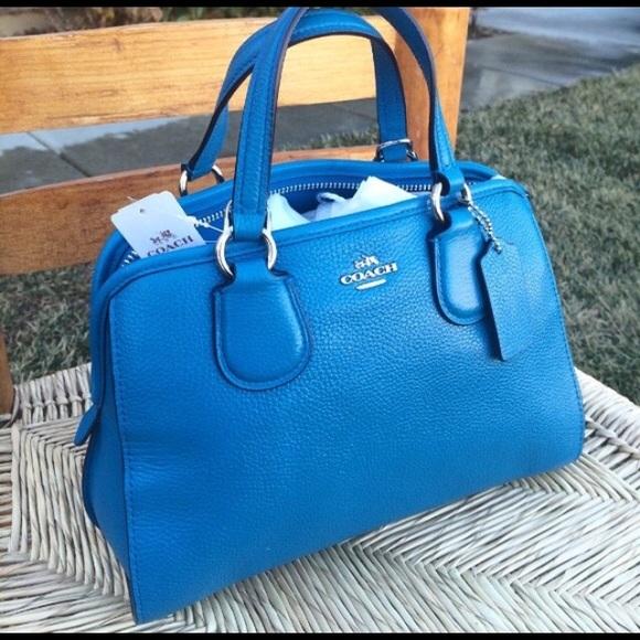 6b311554d90 Coach Bags   New Blue Mini Nolita Satchel   Poshmark