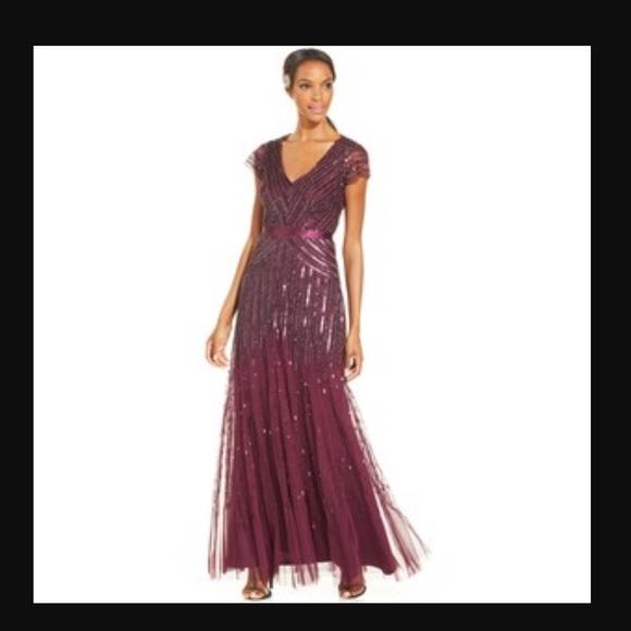 e62ed896 Adrianna Papell Dresses | Beaded Sequins Dress | Poshmark