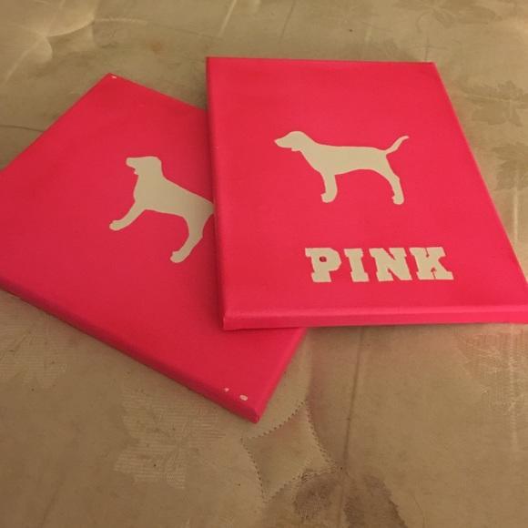 PINK Victoria\'s Secret Other | Pink Wall Decor | Poshmark