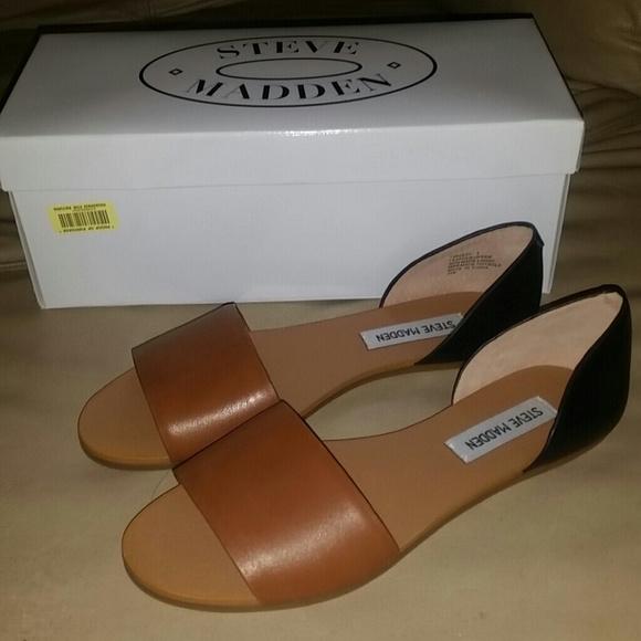 d33ff27ee02 BNIB Steve Madden Twostp Sandals Sz 7