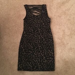 Cheetah/Leopard Print Forever 21 Party Dress