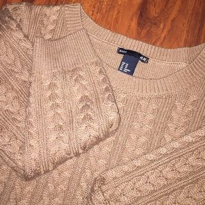 H&M Sweaters - Golden Mustard Neatly Embroidered Sweater