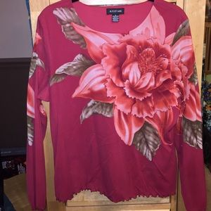 August Max Tops - Floral Top