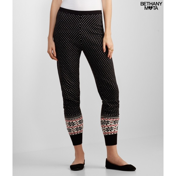 42% off Aeropostale Pants - Bethany Mota Fair Isle Sweater ...