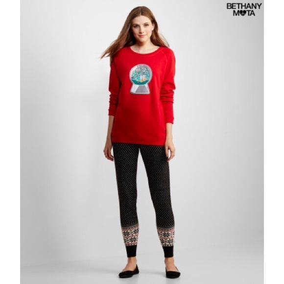 42% off Aeropostale Pants - Bethany Mota Fair Isle Sweater ...