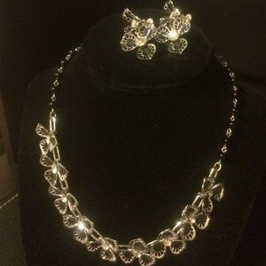 Beautiful antique necklace and earring set
