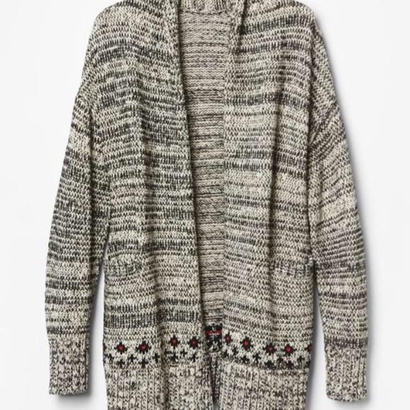 69% off GAP Sweaters - New Gap Body Fair Isle Open Cardigan XS/S ...