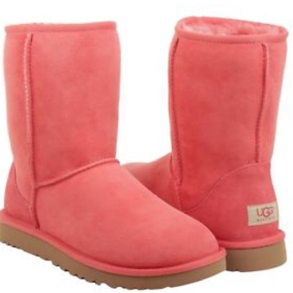 ugg shoes boots pink eraser short poshmark rh poshmark com