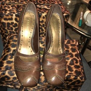 BCBG Girl Brown heels