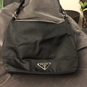 Prada - Prada black baguette from Jenny\u0026#39;s closet on Poshmark