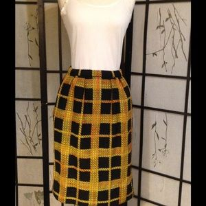 Vintage 1960s tweed skirt