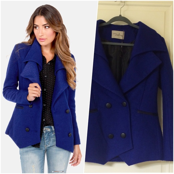 58% off Darling Jackets & Blazers - Cobalt Royal Blue Double ...