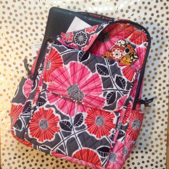 Vera Bradley Bags - NWT Cheery Blossom Ultimate Backpack