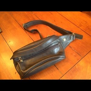 Coach Leather Fanny Pack