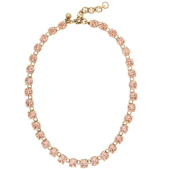 a0e7bce7d J. Crew Jewelry | Jcrew Swarovski Crystal Dot Necklace | Poshmark