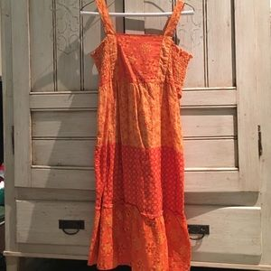 Mossimo Supply Orange Dress