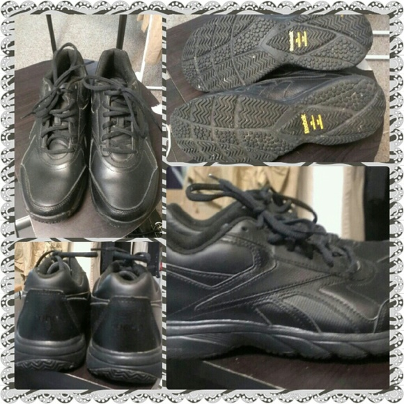 reebok oil and slip resistant shoes