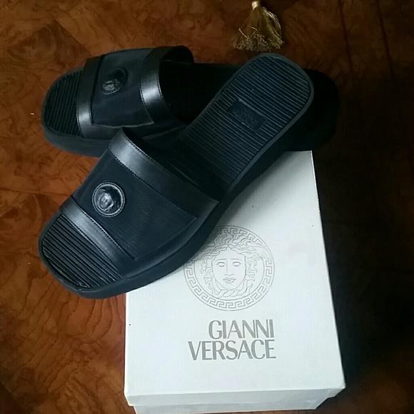 Versace Shoes Slides For Men Poshmark