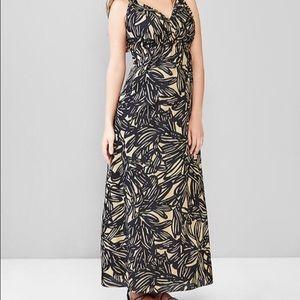 Print maxi Gap maternity dress