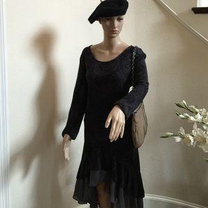 Ruffle Hem Dress by Reborn