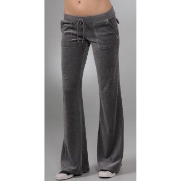 Juicy Couture Pants Jumpsuits Velour Pocket Pants Poshmark