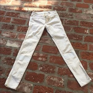 CLOSED Pants - CLOSED cream and white jeans