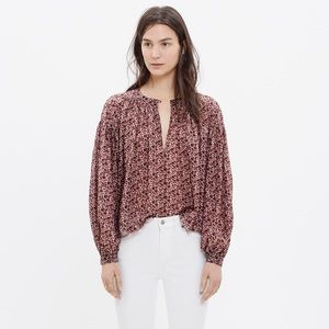 Madewell Tops - Madewell stitched peasant top