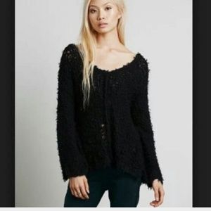 Free People ladder stitch sweater