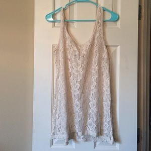 Pull&Bear lace tank top