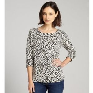 Willow & Clay leopard print sweater