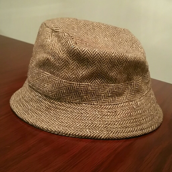 J. Crew Accessories - J. Crew Herringbone Bucket Hat aa3291890de