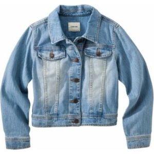 Jean Jacket / GIRLS Size L denim jacket
