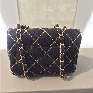 7d73a2fd5b3e CHANEL Bags | Sold On Tradesy Nwt Wool Grey Mini Flap | Poshmark