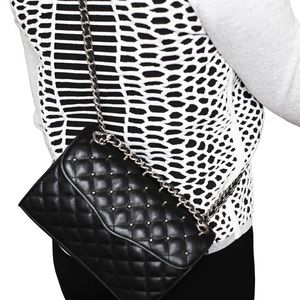 NWT Rebecca Minkoff Quilted Mini Affair with Studs