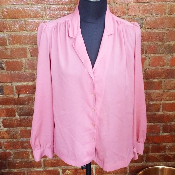 Vintage Tops - HALF OFF SALE | Dusty Pink Vintage Top