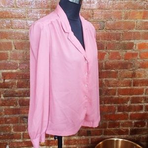 HALF OFF SALE | Dusty Pink Vintage Top