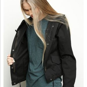 Brandy Melville black Haliey jacket