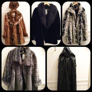 Vintage Jackets & Blazers - Original vintage couture coats from Paris 12/2015