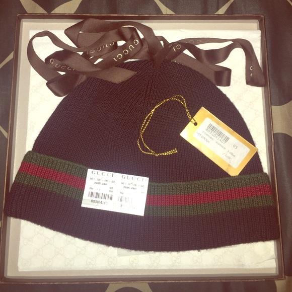 f1535b9cb0dd Gucci Accessories - AUTHENTIC Gucci Hat Crook (Beanie)